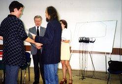 Rok1999.  Rozdanie świadectw