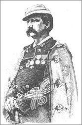 Pułkownik le Prévost, w stroju granda I klasy Stanów Nowej Francji. Tytuły i godności też były do kupienia