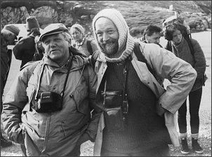 Profesorowie Pulina i Głazek w krasie Pirenejów (wrzesień 1987 r.) Foto: A. Tyc