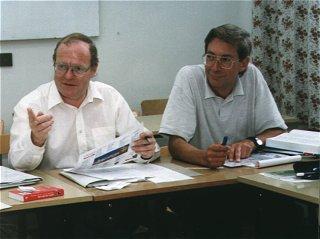 Ian Quarrinton i John Riddel