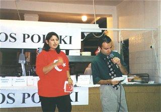 Zeynep Kitzan i Mahir Gatalkaya z Turcji