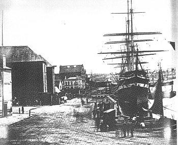 Statek Sobraon w porcie Sydney