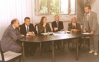 Zebranie Członków Zarządu Stowarzyszenia Przyjaciół Uniwersytetu Śląskiego