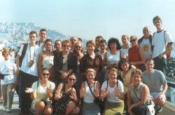 Teresa Capece i włoscy goście